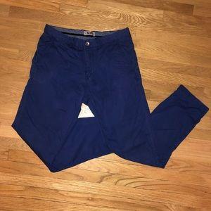 Men's blue Acne pants